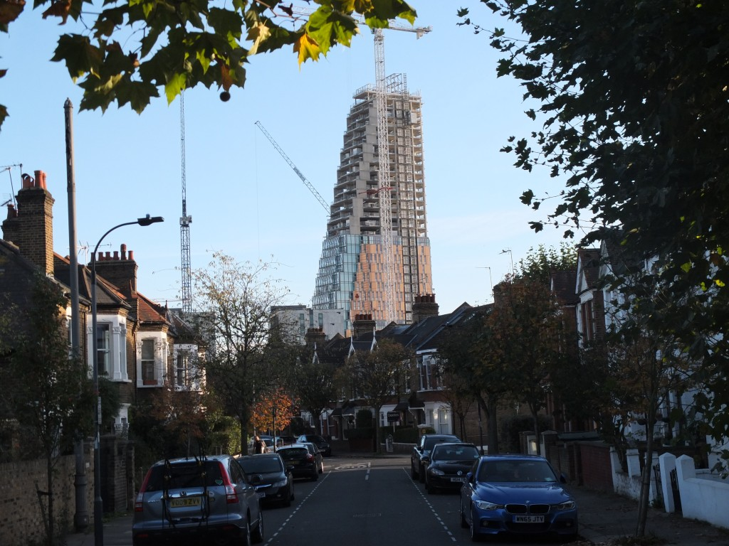 Imperial College's tower at Wood Lane, White City